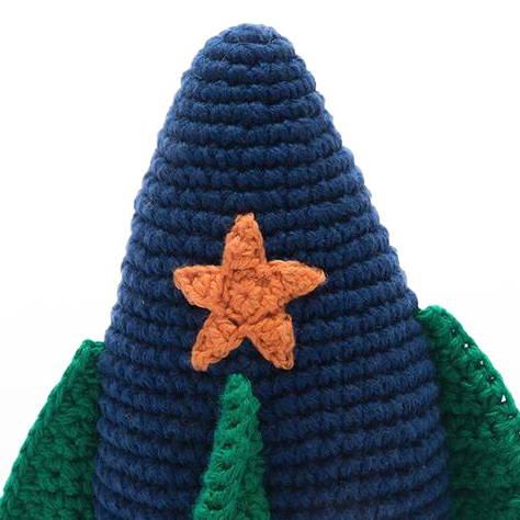 Crochet Rocket Rattle