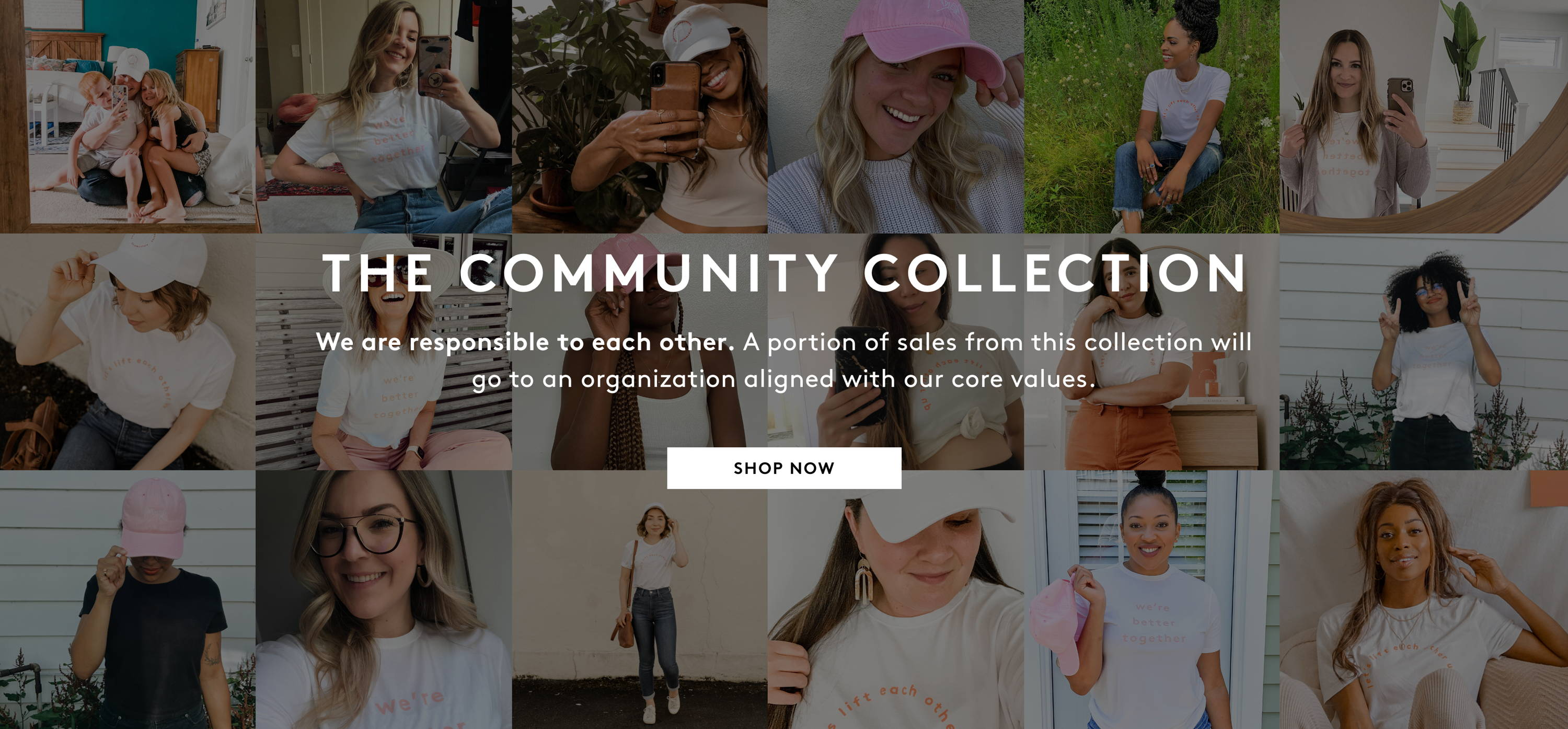 The Community Collection Shop Now
