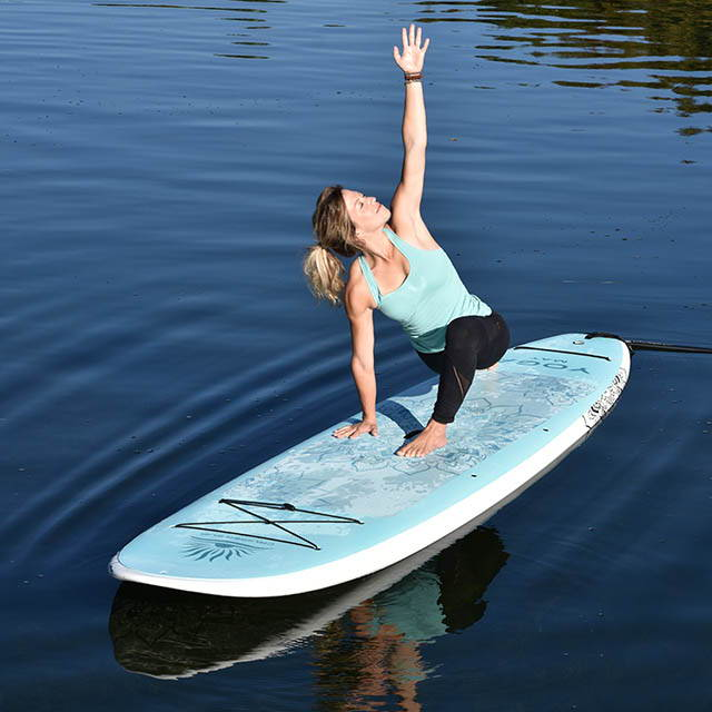 Cruiser SUP Yoga Mat Feather-Lite yoga stand up paddle board
