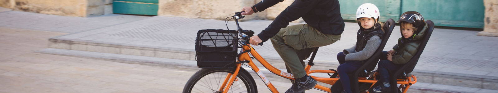 Yuba bikes has the best cargo bikes for the family.