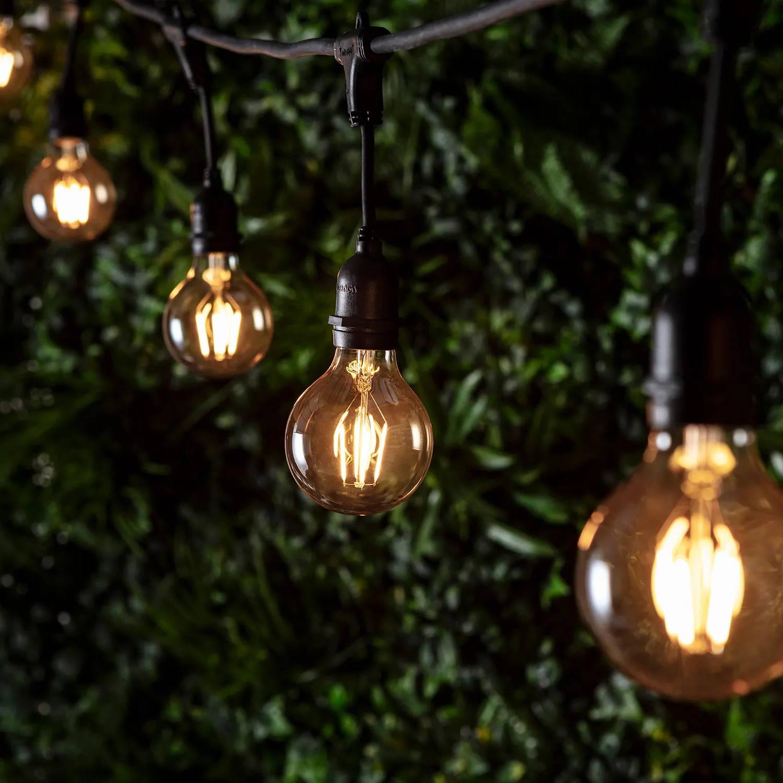 Ingenious Connect Party Lichterkette grosse Globe Birnen