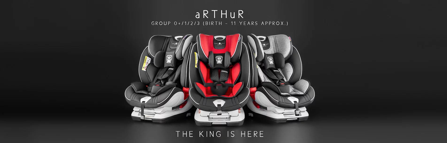 cozynsafe Arthur car seat group 0+ 1 2 3 king