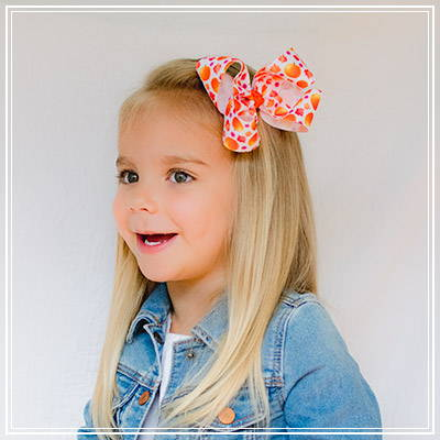 Big Fluffy Hair Bow for Toddler or Girl Headband