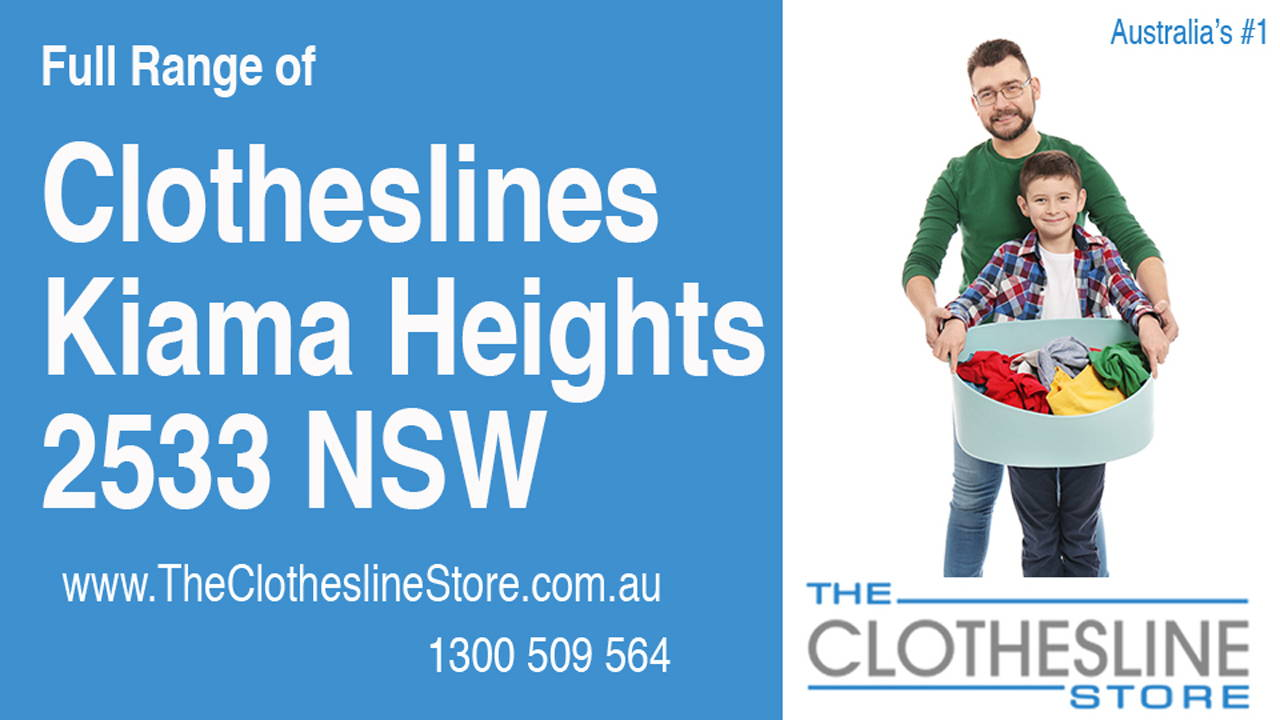 New Clotheslines in Kiama Heights 2533 NSW
