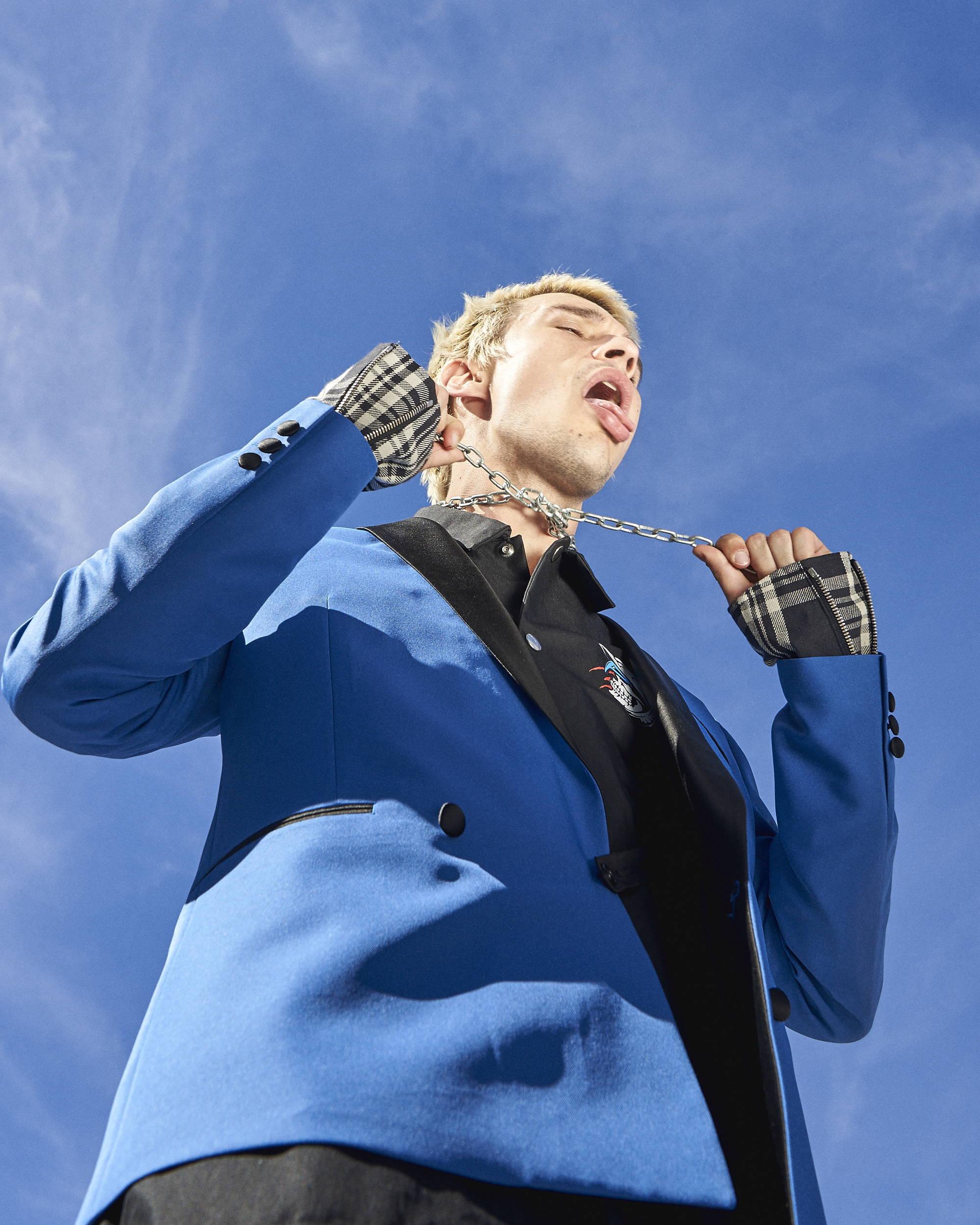 Kidill F/W18 Blue Suit - Hlorenzo
