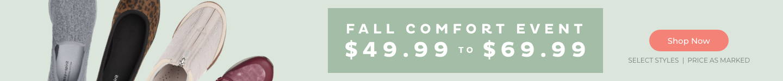 Fall Comfort Event