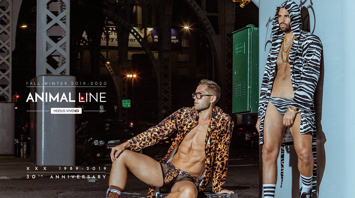 Modus Vivendi Animal Line | It's About The Man | Models in Underwear, Men in Underwear, Modus Vivendi  | Photography by Jahmar Amani