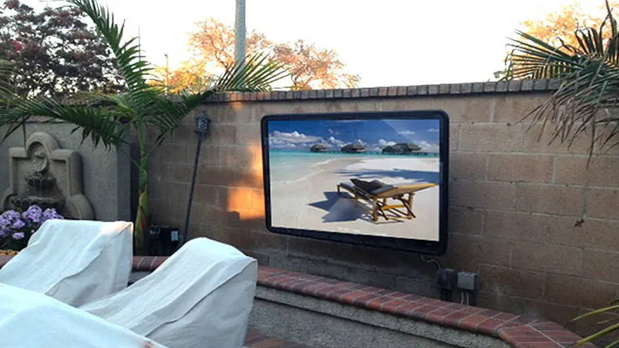TV for backyard The TV Shield