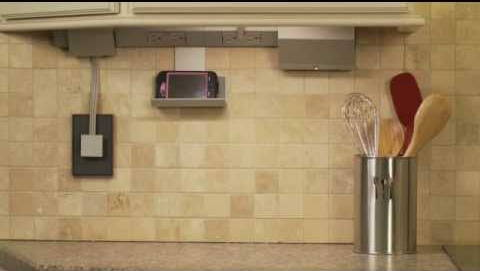 Legrand under cabinet lighting control system example lifestyle