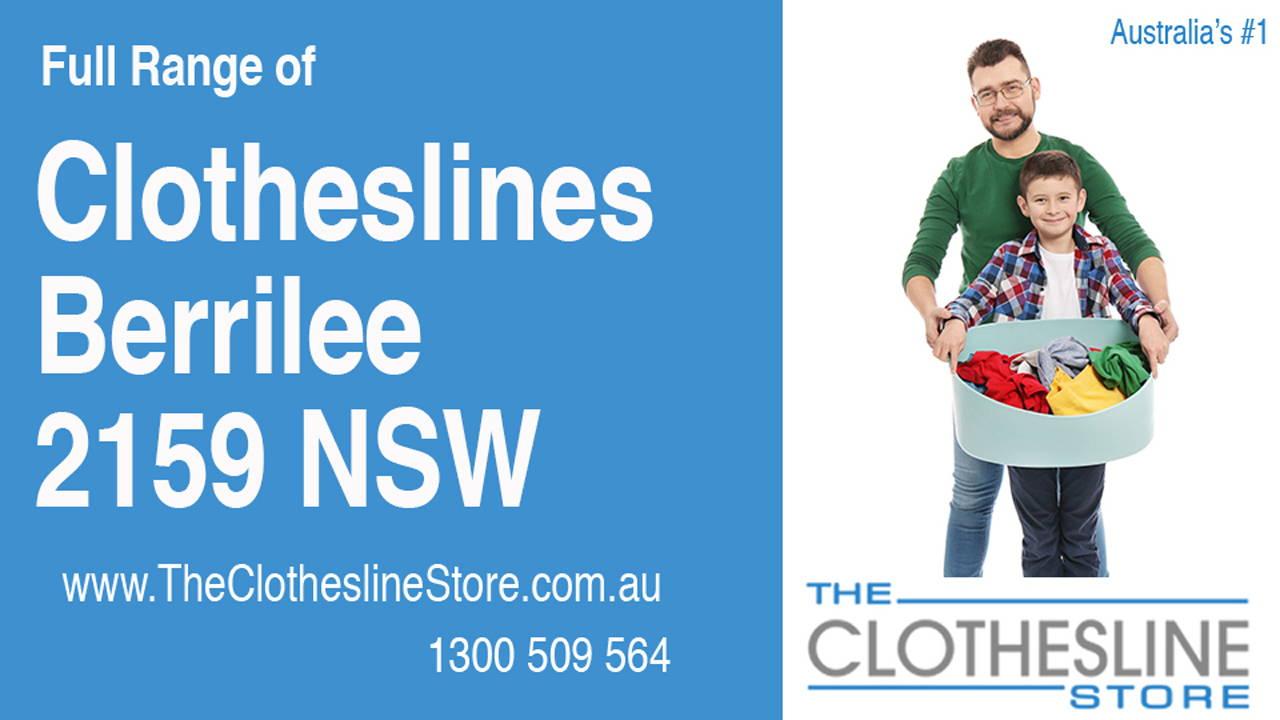 Clotheslines Berrilee 2159 NSW
