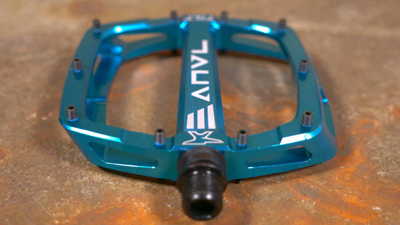 anvl anvil anvel tilt v3 pedal pedals mtb mountain bike tr blue transition