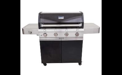 Saber Grills 670 Cast  Black Infrared Gas Grill
