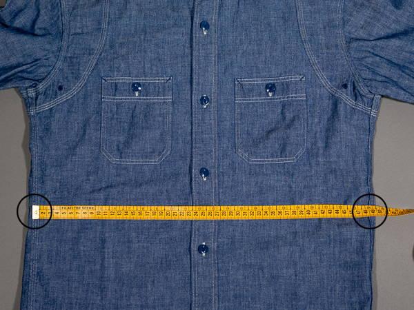 how to measure a shirt waist