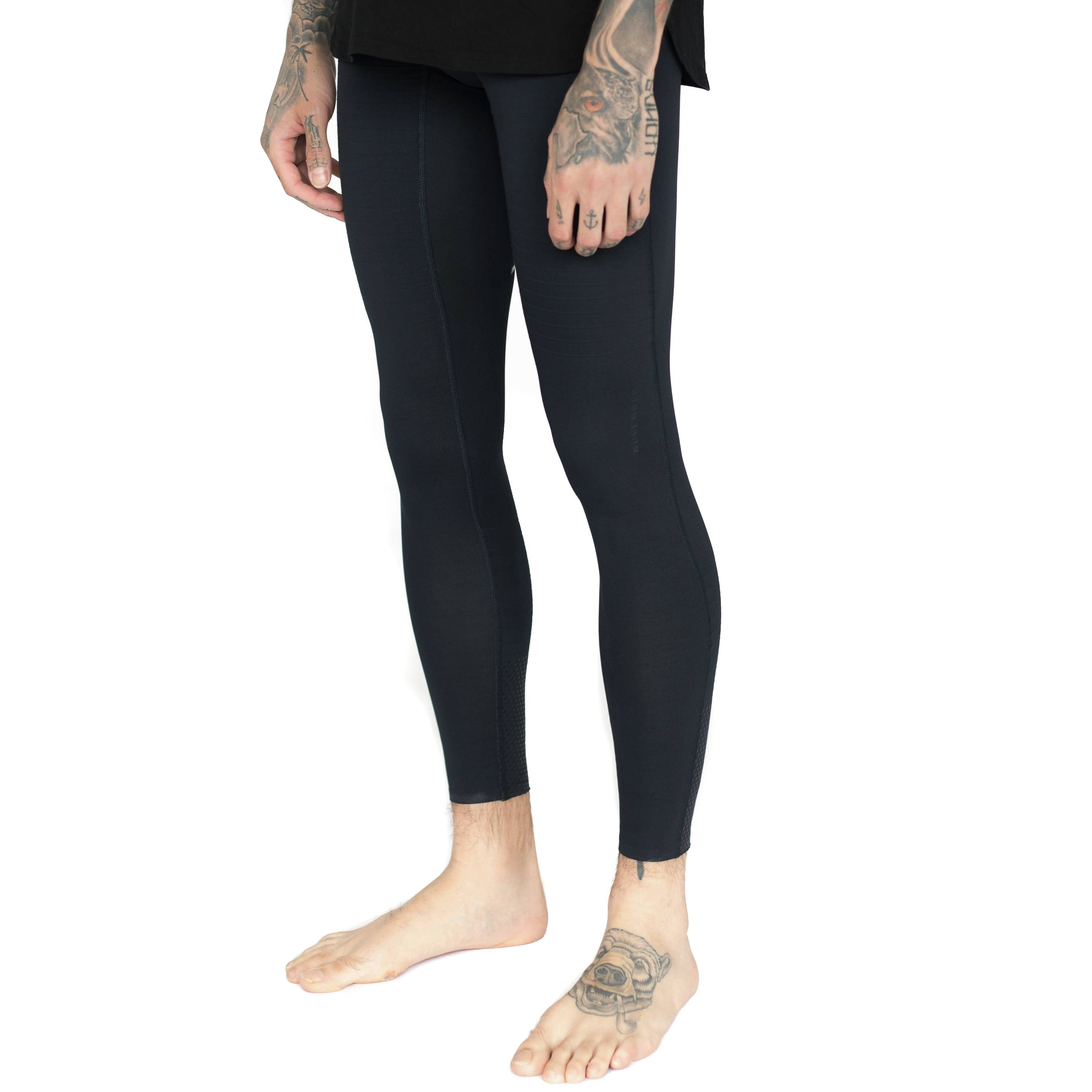 Mens-Midnight Black-Compression Tight-4