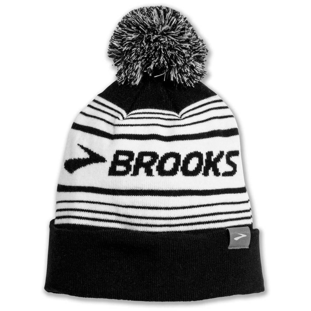 Brooks Booster Pom Beanie Black