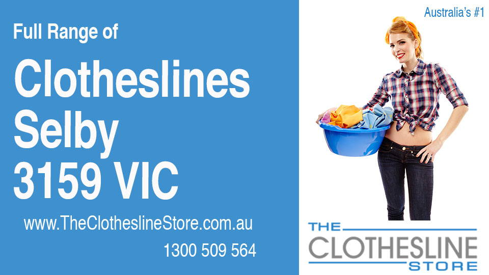 New Clotheslines in Selby Victoria 3159