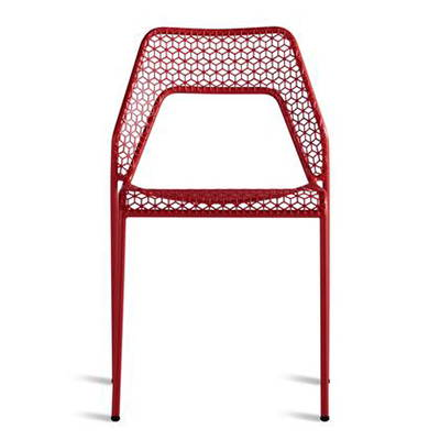Modern Red Outdoor Dining Chairs