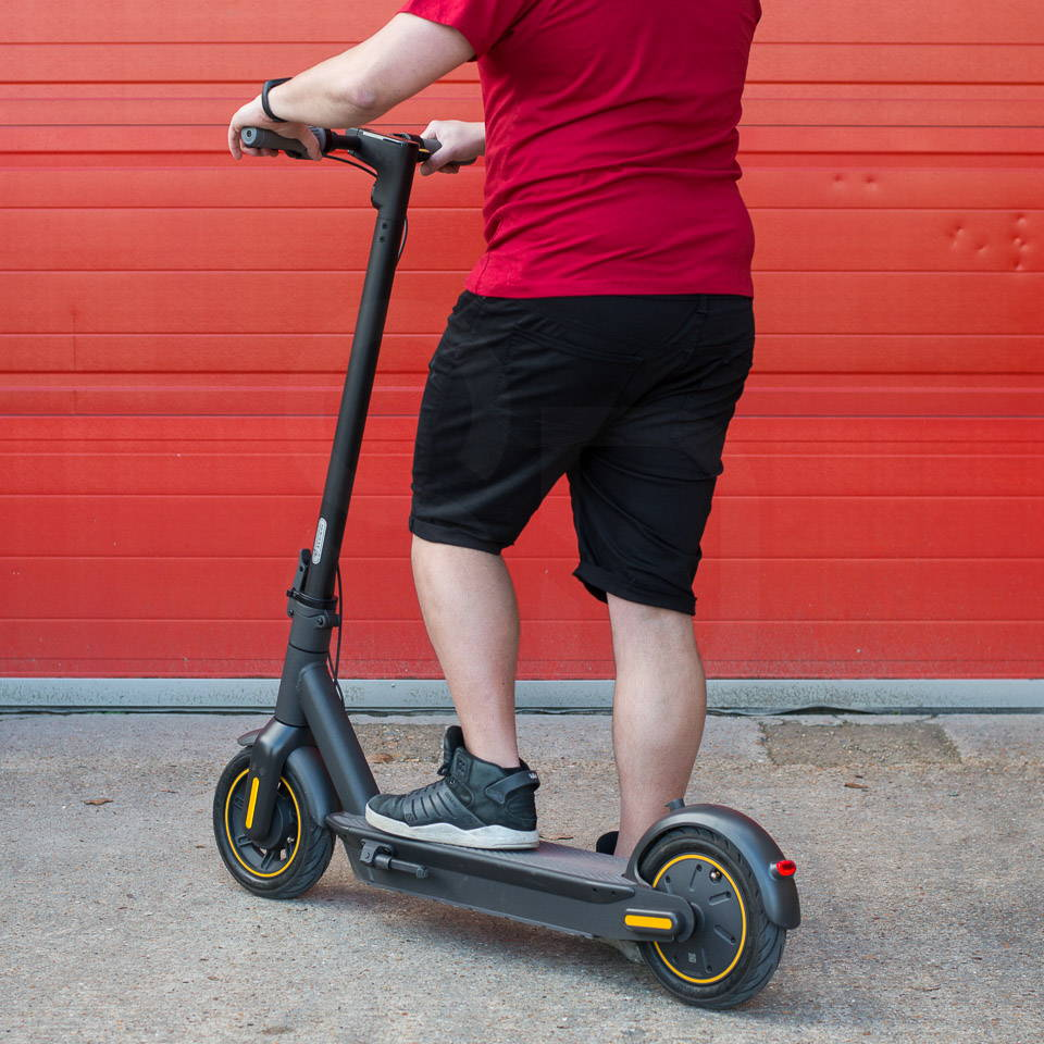 Electric scooters for heavy adults Ninebot Max G30 left