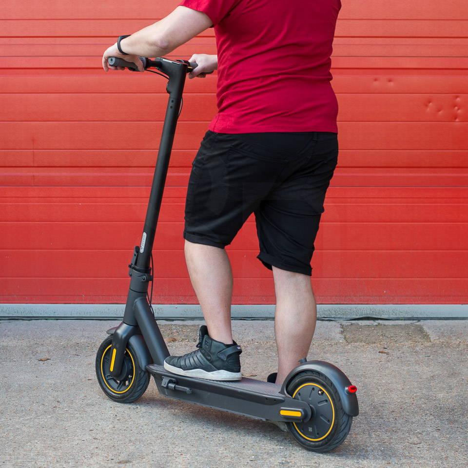 重型成人電動滑板車 Ninebot Max G30 左