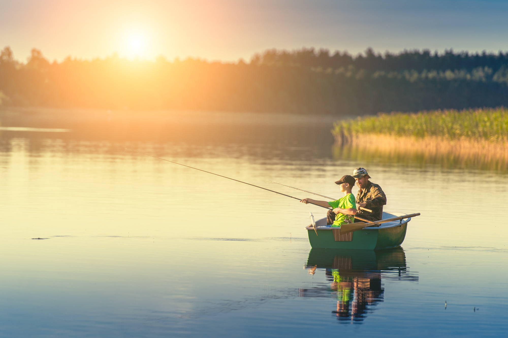 best month to fish for bass