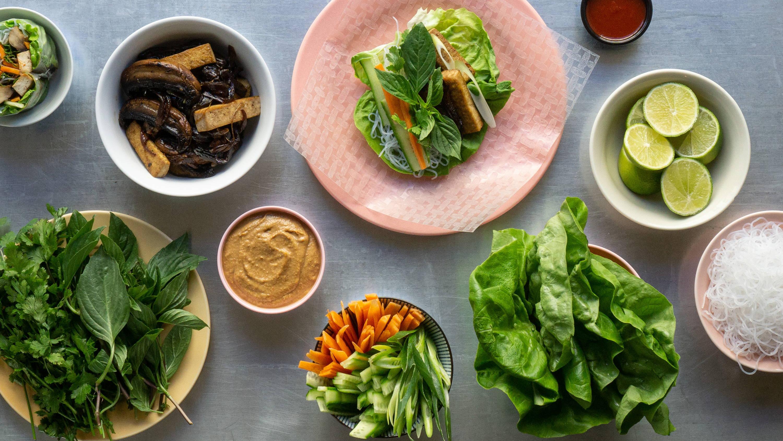 Inspiration til aftensmad og anretning af måltidskasse fra Miss Hanoi