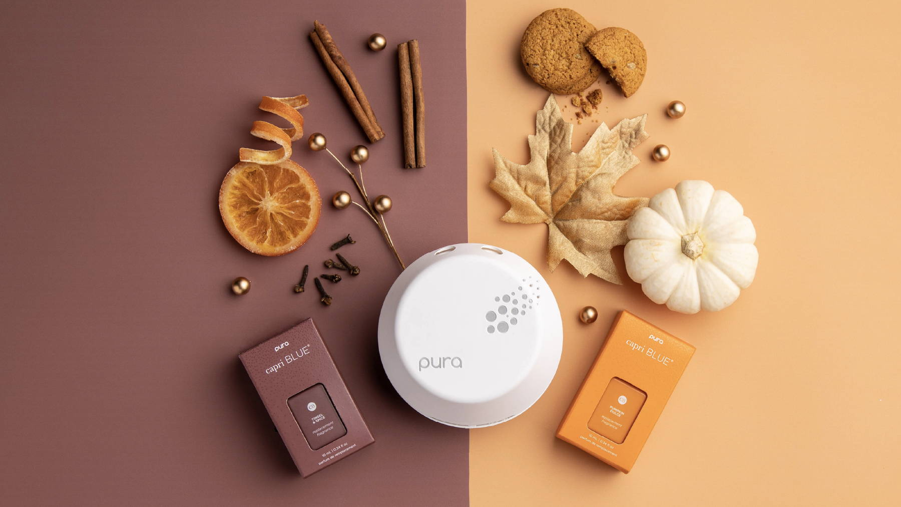 Tinsel & Spice, Pumpkin Dulce, and Device
