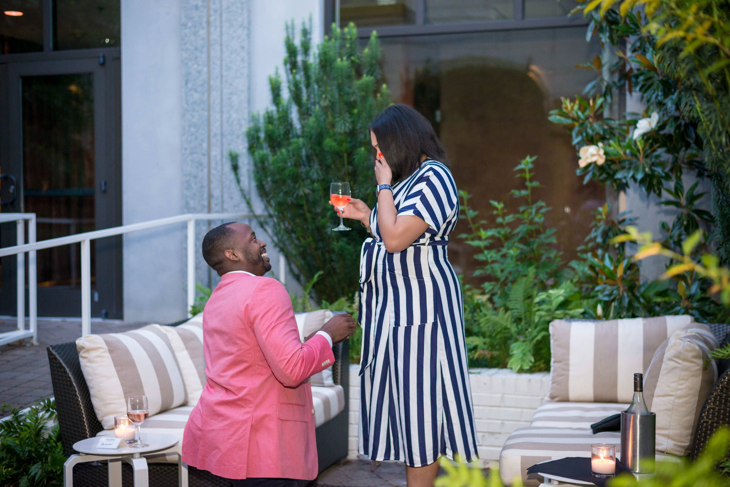 Carl Proposes to Veronica with Schiffman's Engagement Ring