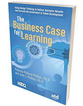 HRDQ book image business case for learning