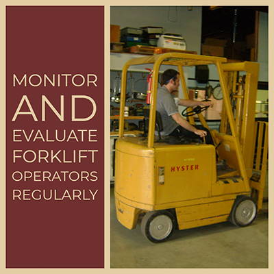 Forklift Refresher Training Requirements