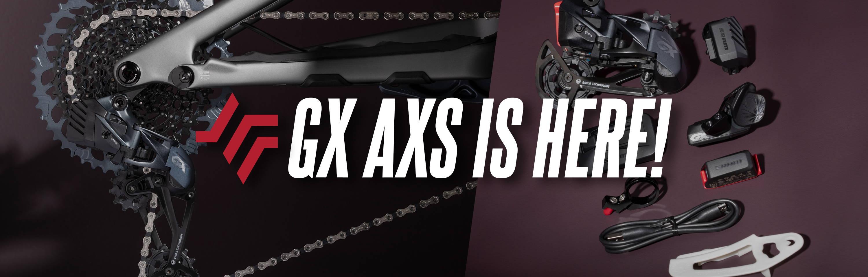 SRAM GX Eagle AXS mountain bike drivetrain groupset upgrade kit studio shots