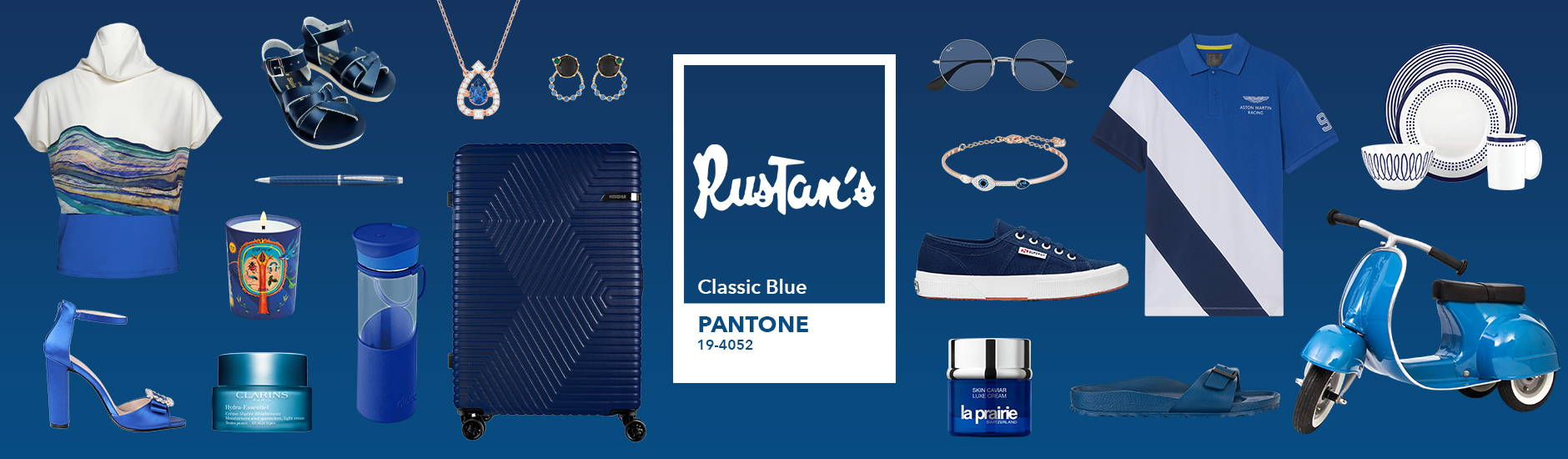 When in Doubt, Go Classic: Pantone's Color of the Year — Rustans.com