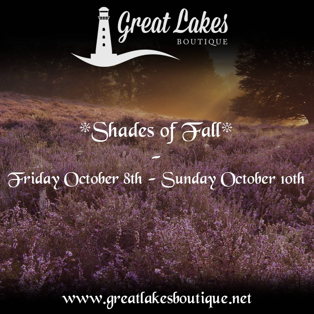 Great Lakes Boutique Shades of Fall