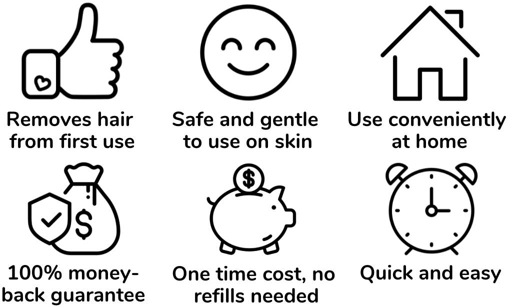 heysilkyskin ipl at home laser hair removal device