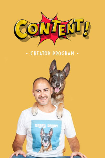 pop your pup content program treat daddy with his dad
