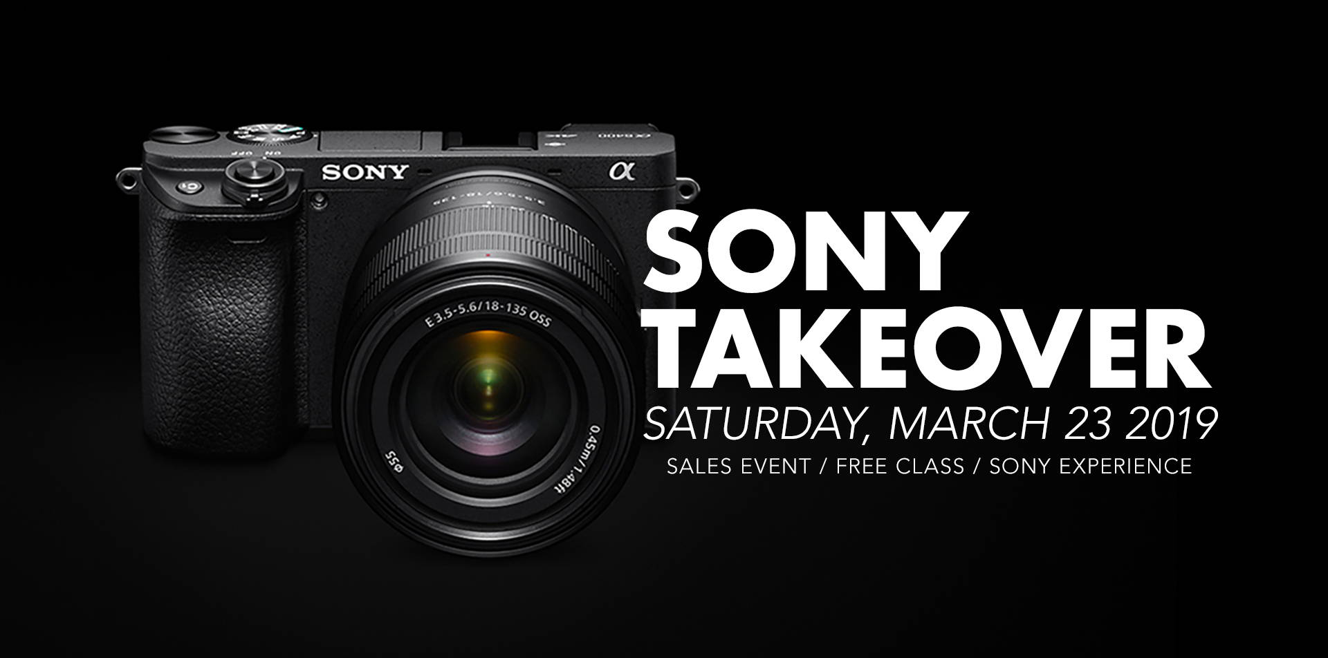 Sony Takeover - Saturday, March 23, 2019