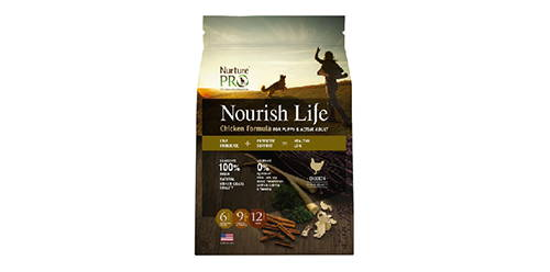 nurture pro nourish life puppy and active adult