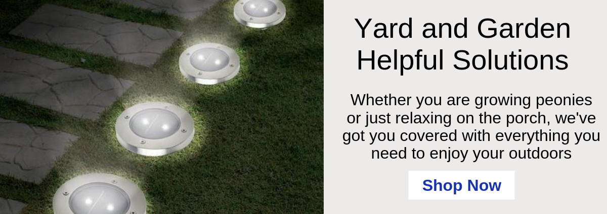 Yard and Garden Helpful Solutions