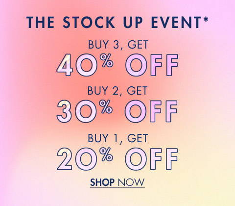 The Stock Up Event