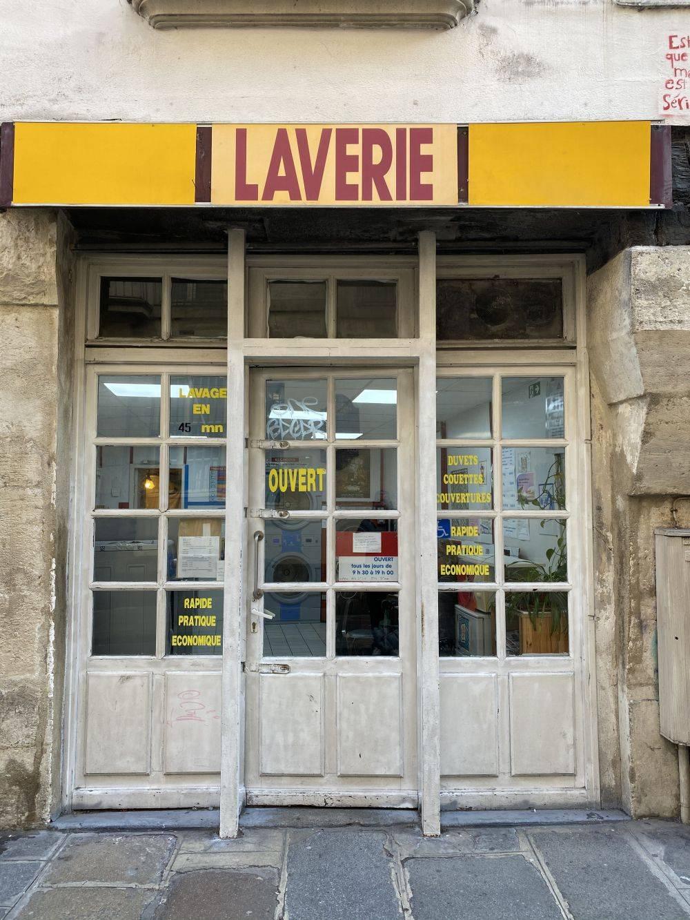 Parisian launderette
