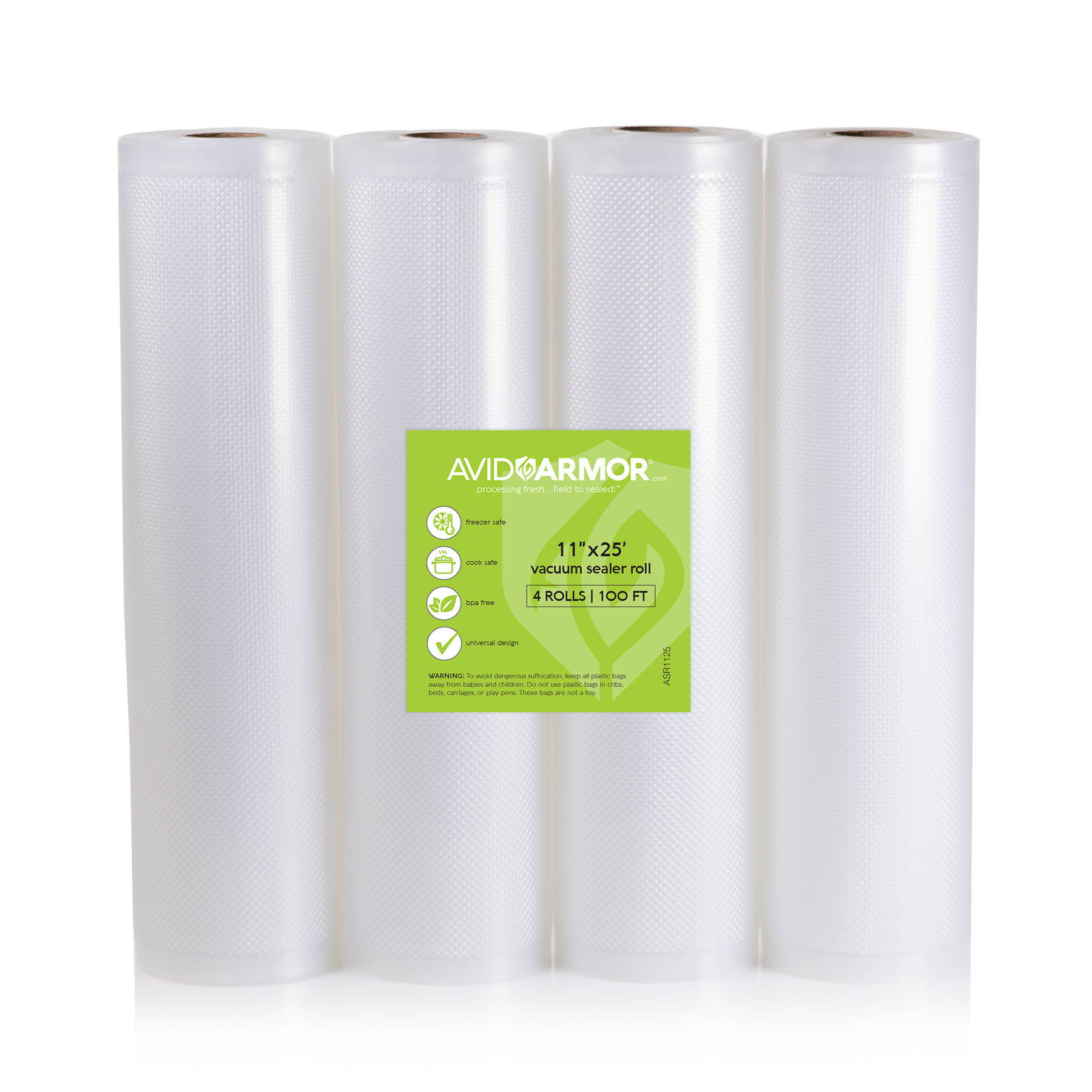 11 inch x 25 foot vacuum sealer bag rolls