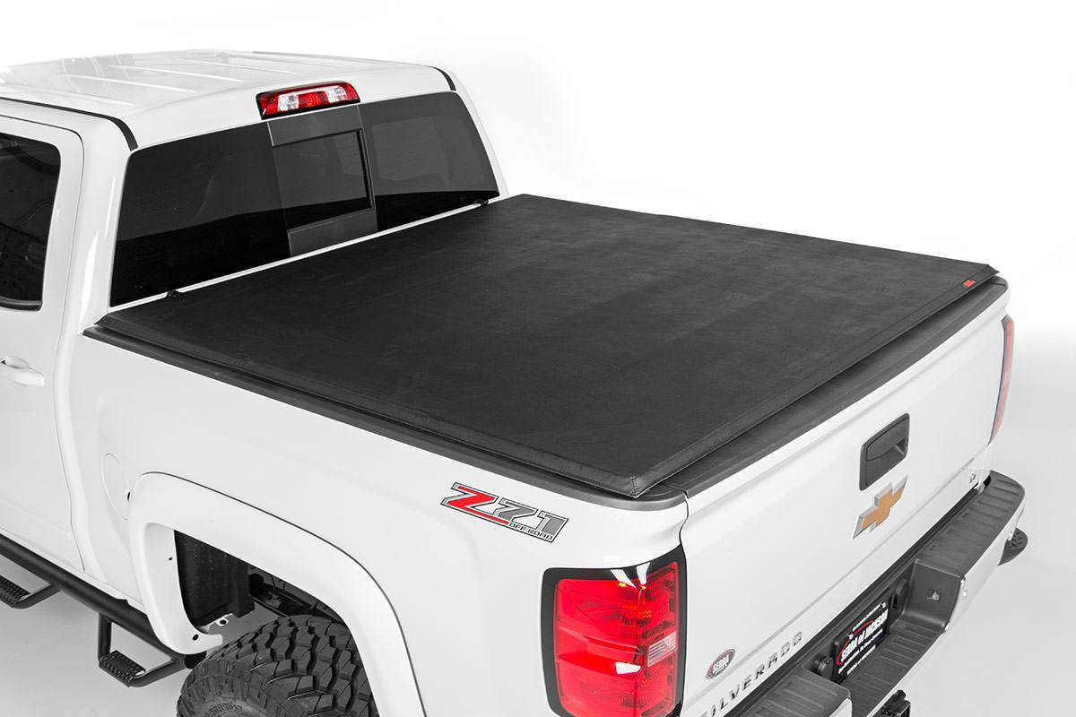 Z71 chevy truck bed cover