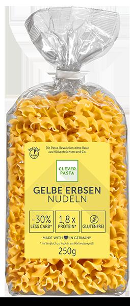 Clever Pasta Gelbe Erbsen Nudeln