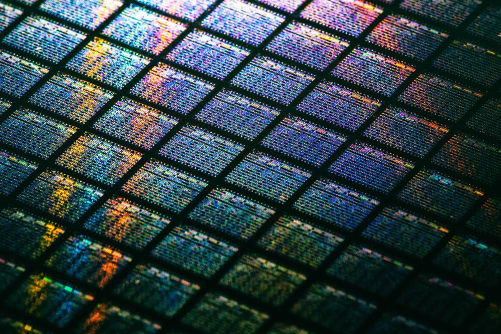 Computer Processor Close Up Image