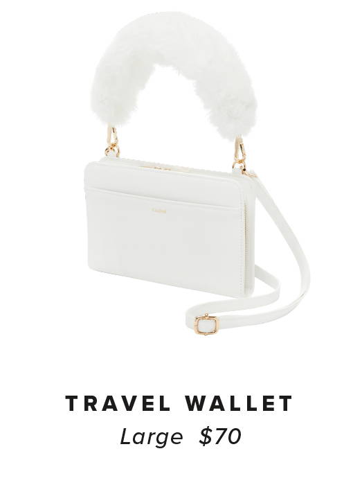 Kaya Travel Wallet - White