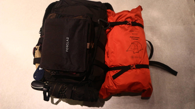 デカトロン FORCLAZ (フォルクラ) キャンプ・登山用テント TREK 100 自立式 - 2人用