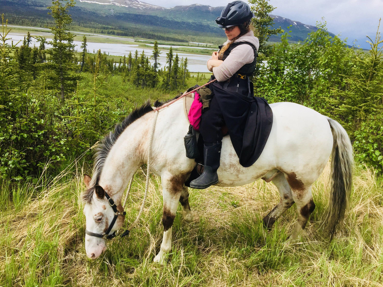 Arctic Horse Tongass Rain Skirt Multi-rein rein extender Arctic Horse