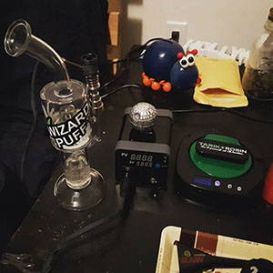 dab rig starter kit and stickybox enail