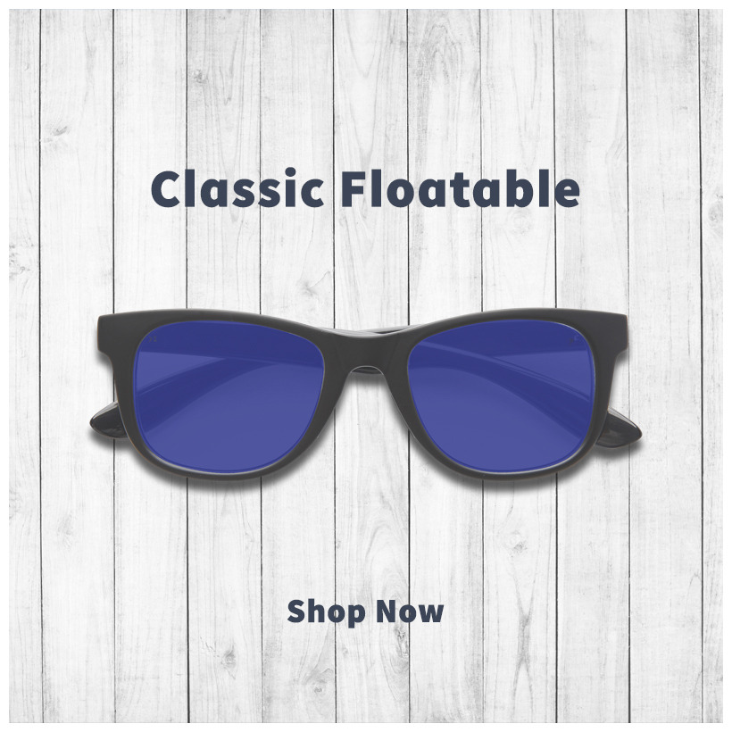 classic floating sunglasses