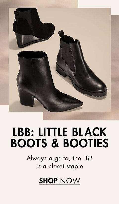 Little Black Boots & Booties
