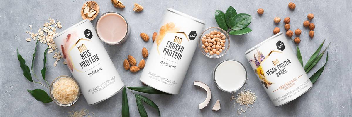 Vegane Bio-Proteine  von nu3
